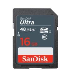 SanDisk Ultra SDHC Card 48MB/s class 10 16GB - GARANSI RESMI