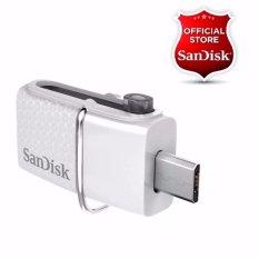 SanDisk USB 3.0 Ultra Dual USB Drive OTG 32GB - Putih