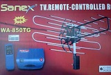 Jual Sanex Antenna Tv Outdoor With Booster Remote Wa 850 Tg
