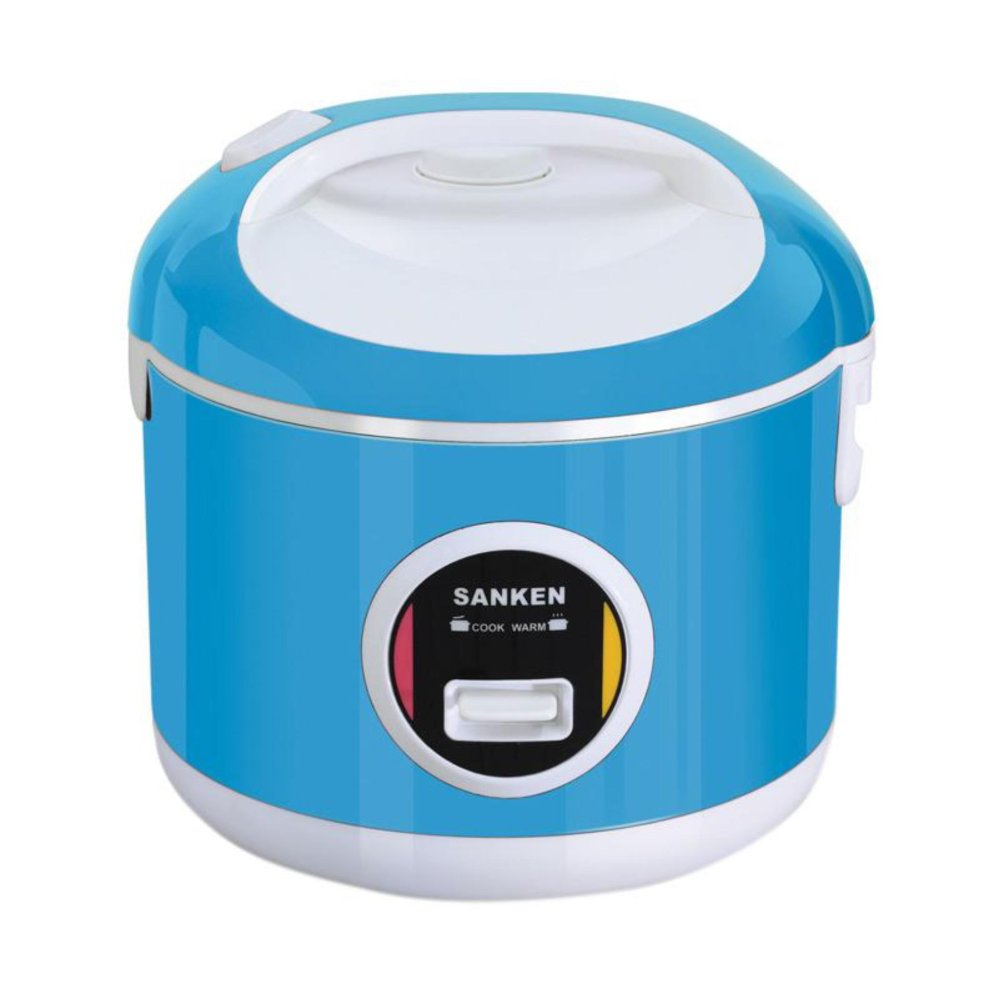 Sanken Magic Com Magic Jar Rice Cooker Penanak Nasi 2 Liter 6In1 Biru Sj3010 Sanken Diskon 40