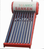 Jual Sanken Swh Pr100Pg Evacuated Tube Solar Water Heating 110 Liter Lengkap