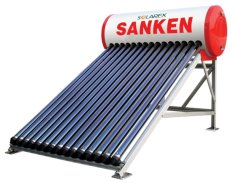 Harga Sanken Swh Pr150Pg Evacuated Tube Solar Water Heating 150 Liter Fullset Murah