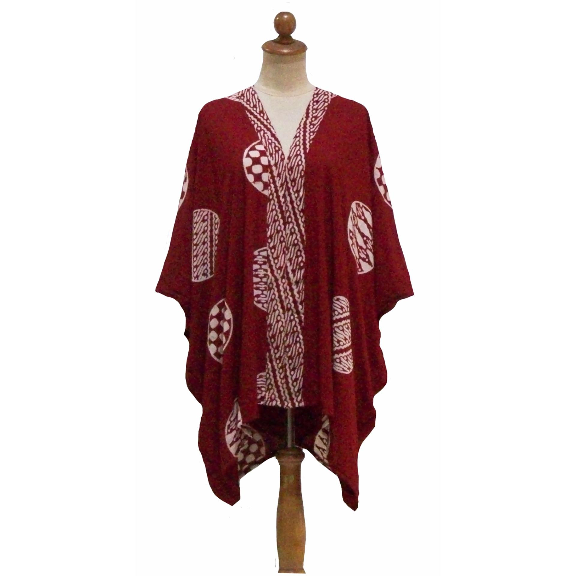 Sanny Apparel Kx 010 Kimono Satin Print Merah Maroon Daftar Harga Herrta Piyama Baju Tidur Sleepwear Wanita Cewek Dewasa Ibu Hamil Menyusui Celana Panjang Katun Jepang 8013 Rp 305000