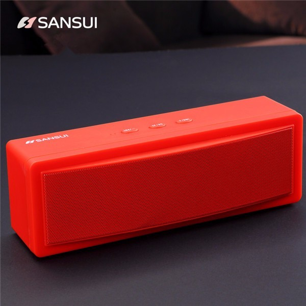 Jual Beli Online Sansui T18 Nirkabel Bluetooth Speaker 1200 Mah Subwoofer Portable Speaker Dual Unit Tf Kartu U Disk Intl