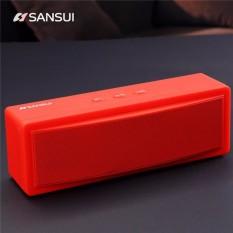 Diskon Sansui T18 Nirkabel Bluetooth Speaker 1200 Mah Subwoofer Portable Speaker Dual Unit Tf Kartu U Disk Intl