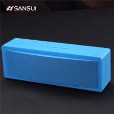 Harga Sansui T18 Wireless Bluetooth Speaker 1200Mah Subwoofer Portable Speaker Dual Unit Tf Card U Disk Intl Original