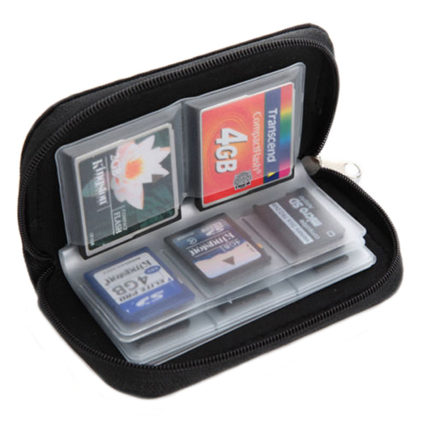 Jual Sanwood® Sdhc Sd Kartu Memori Micro Sd Mmc Cf Case Penyimpanan Dompet Termurah