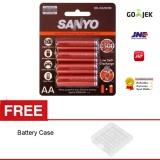 Beli Sanyo Eneloop Harmolatice 2500Mah Aa Battery Free Battery Case Murah Di Jawa Barat