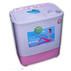 Sanyo Mesin Cuci 2 Tabung Semi-Otomatis SW-731XT 7KG - Putih-Biru - JADETABEK ONLY