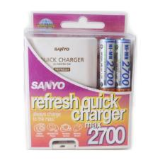 Sanyo Refresh Quick Charger 2700 Max