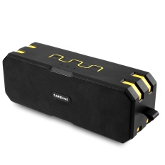 Harga Sarden F4 Ip67 Tahan Air Portable Bluetooth Speaker Aux Tf Kartu Multi Input Music Player Kuning Intl Baru