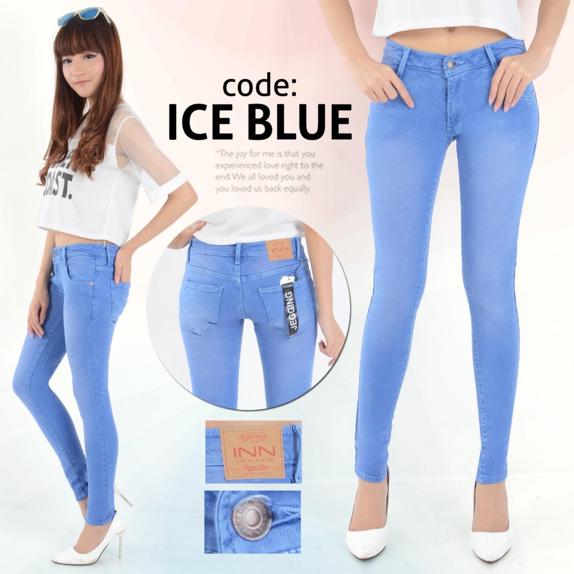 Saroha Jeans - Celana Jeans Wanita Skinny Street Berbahan Soft Jeans Street Restleting Kuat Jahitan Rapi Murah