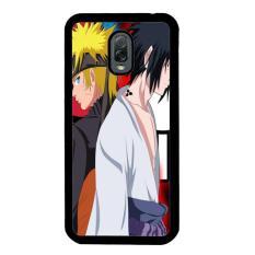 Sasuke Uchiha Vs Naruto Uzumaki Shippuden Z0686 Samsung Galaxy J7 Plus Custom Hard Case