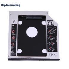 SATA 2nd HDD SSD Hard Drive Caddy untuk 12.7mm Universal CD/DVD-ROM Optik-Intl