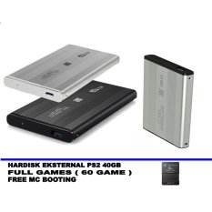 SATA Hardisk Eksternal PS2 40GB - Support All Fat Series Playstation 2  - Best Quality