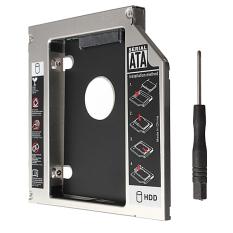SATA untuk Sata Ide 2nd HDD HD Keras Sopir Kadi untuk 12.7 Mm Universal CD/DVD-ROM