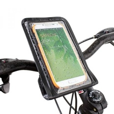 Satechi Pro RideMate Bike Mount (Tahan Air Hitam) untuk IPhone 6, 5 S, 5C, 5, 4 S, HTC One, HTC EVO, HTC Inspire 4g, HTC Sensation, Droid X, Droid Incredible, Droid 3, Samsung EPIC, Galaxy S4, S5, S6, Note 3-Internasional