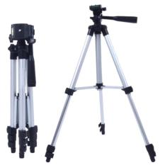 Sativa Acc - Tripod 3110 For Camera And HP - Silver - Free Holder U And Back Cover
