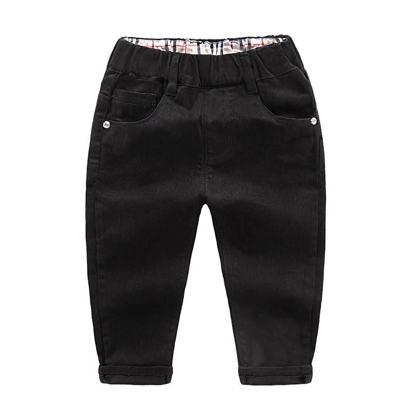 Toko Sayang Korea Fashion Style Warna Solid Anak Celana Bagian Tipis Celana Cargo Hitam Terlengkap Tiongkok