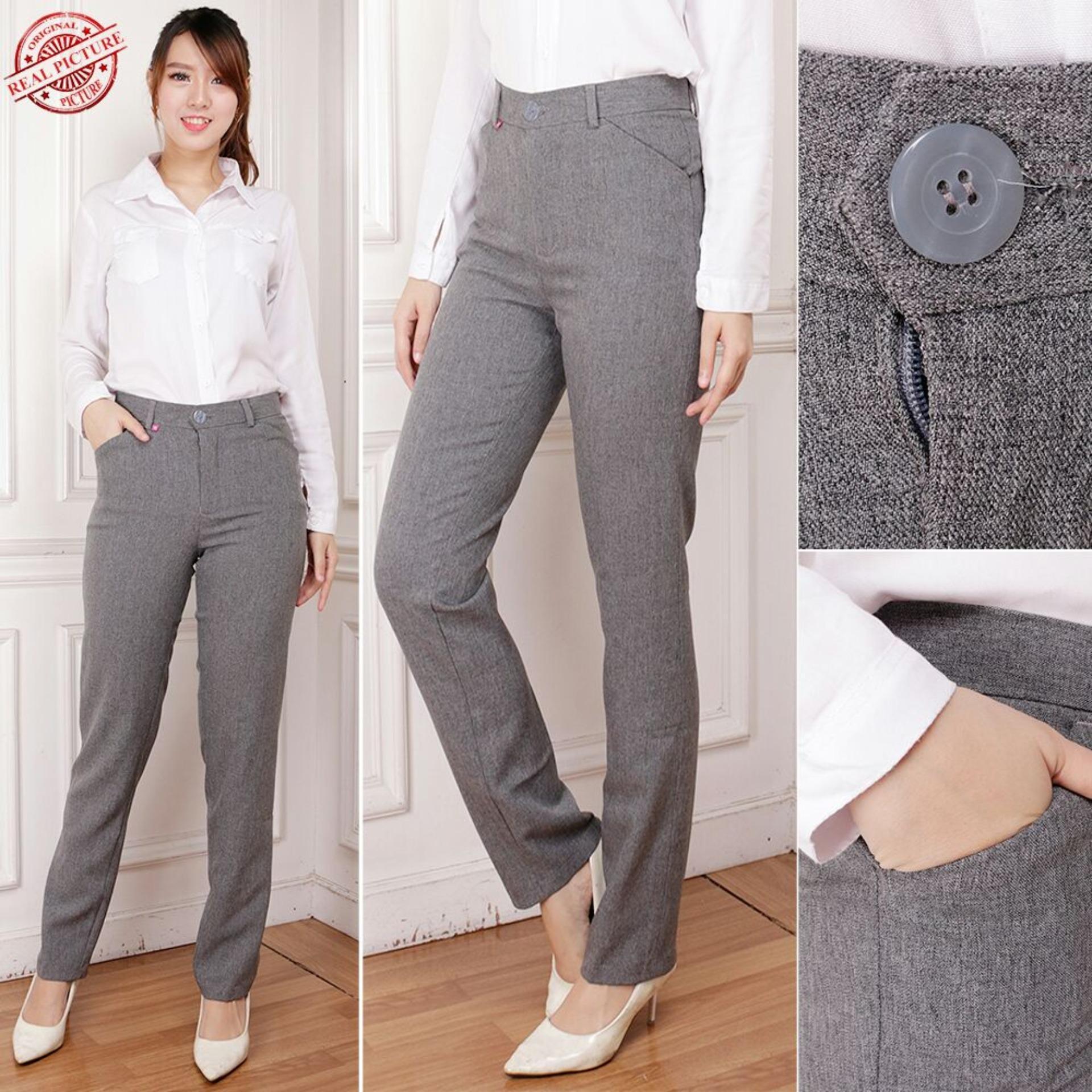 Beli Sb Collection Celana Panjang Thalia Kantor Longpants Wanita Pake Kartu Kredit
