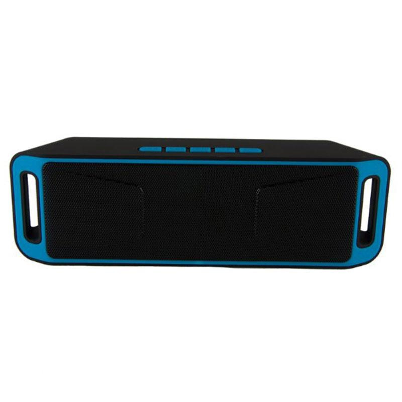 Sc208 Bluetooth 4 Wireless Fm Super Bass Full Range Sound Hifi Abu Abu Intl Aukey Diskon 50