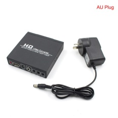SCART/HDMI Ke HDMI Adapter 720 P 1080 P HD Video Converter Box dengan Power Supply untuk HDTV DVD STB AU Plug-Intl