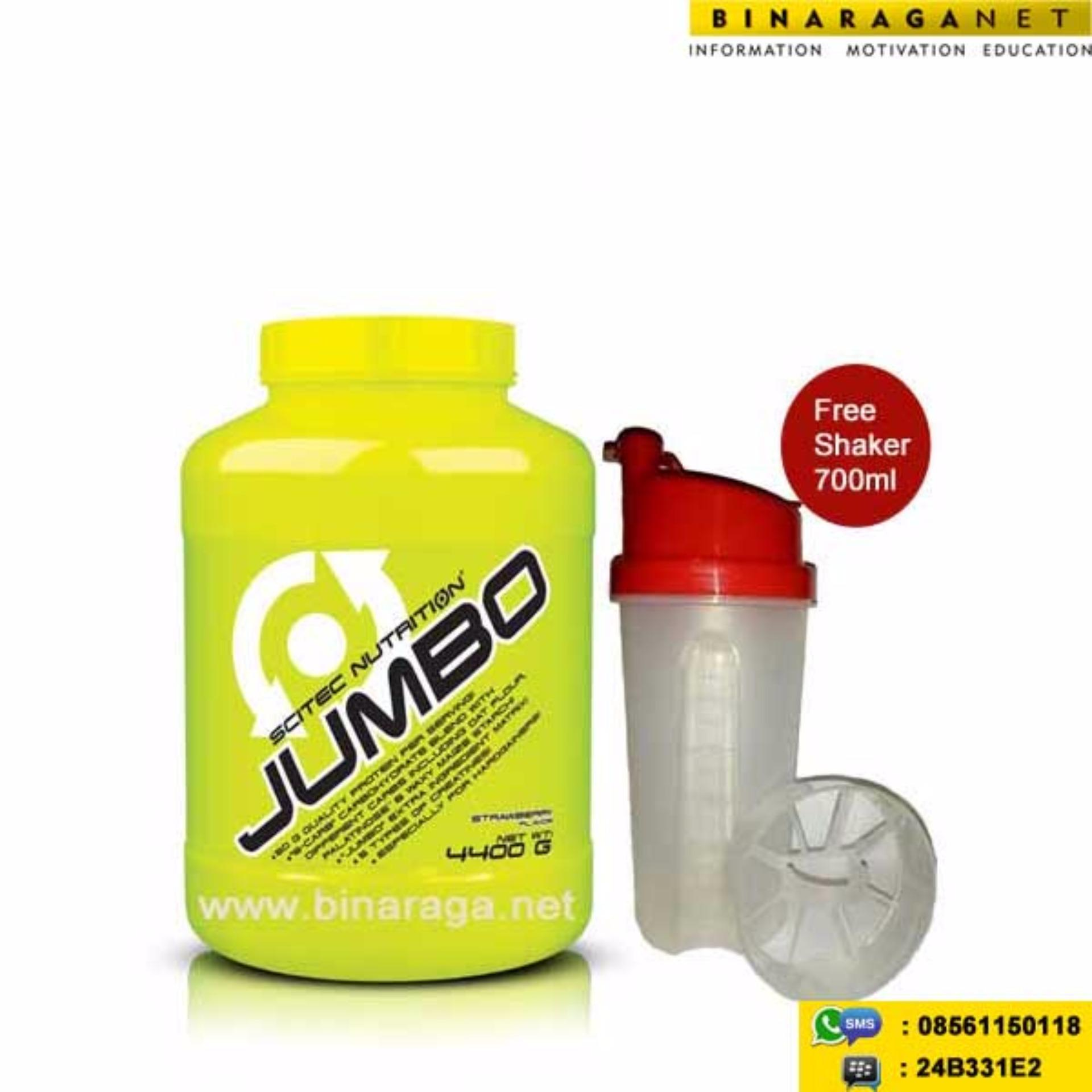 Harga Scitec Nutrition Jumbo 10 Lbs Strawberry Origin