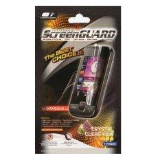 Screen Guard Anti Gores untuk Blackberry 9105 / Pearl - Clear