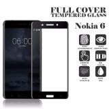 Spesifikasi Screen Protector For Nokia 6 Tempered Glass 2 5D Full Screen Hitam Lengkap