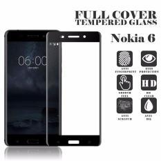 Daftar Harga Screen Protector For Nokia 6 Tempered Glass 2 5D Full Screen Hitam Hmc