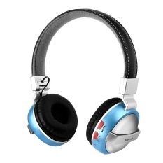 Beli Sdp Stereo Foldable Hifi Wireless Over Ear Headphones Adjustable Headband Bluetooth Headsets With Fm Tf Function For Cellphones Smartphones Iphone Laptop Computer Mp3 4 Earphones Blue Online Murah