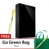 Seagate Backup Plus 8Tb Desktop Storage Usb 3 Hitam Gratis Go Green Bag Pen Asli