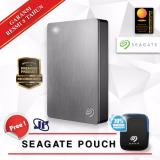 Harga Seagate Backup Plus Portable 5Tb 2 5 Usb 3 Silver Gratis Pouch New
