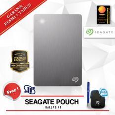 Spek Seagate Backup Plus Portable 5Tb 2 5 Usb 3 Silver Gratis Pouch Ballpoint