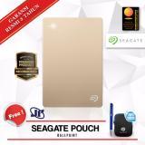 Jual Seagate Backup Plus Slim 1Tb 2 5 Usb 3 Gold Gratis Pouch Ballpoint Branded Murah