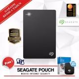 Beli Barang Seagate Backup Plus Slim 1Tb 2 5 Usb 3 Hitam Gratis Pouch Internet Security Online