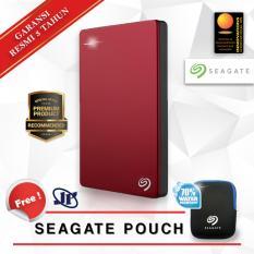 Spesifikasi Seagate Backup Plus Slim 1Tb 2 5 Usb 3 Merah Gratis Pouch Murah