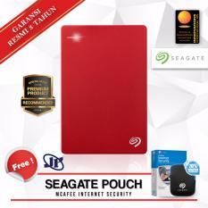 Beli Seagate Backup Plus Slim 1Tb 2 5 Usb 3 Merah Gratis Pouch Internet Security Online Dki Jakarta