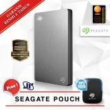 Jual Seagate Backup Plus Slim 1Tb 2 5 Usb 3 Silver Gratis Pouch Seagate Ori