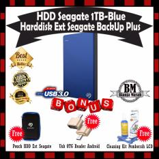 Toko Seagate Backup Plus Slim 1Tb Hdd Hd Hardisk External 2 5 Blue Gratis Pouch Hdd Usb Otg Reader Mini Cleaning Kit Pembersih Lcd Pc Laptop Seagate Di Dki Jakarta