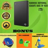 Harga Termurah Seagate Backup Plus Slim 1Tb Hdd Hd Hardisk External 2 5 Hitam Gratis Pouch Harddisk Otg Android Cleaning Kit Pembersih Pc Notebook