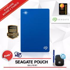 Beli Seagate Backup Plus Slim 2Tb 2 5 Usb 3 Biru Gratis Pouch Ballpoint Seagate Murah