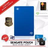Spesifikasi Seagate Backup Plus Slim 2Tb 2 5 Usb 3 Biru Gratis Pouch Internet Security Murah
