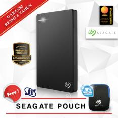 Beli Seagate Backup Plus Slim 2Tb 2 5 Usb 3 Hitam Gratis Pouch Kredit Dki Jakarta