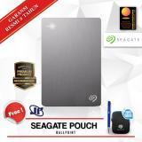 Seagate Backup Plus Slim 2Tb 2 5 Usb 3 Silver Gratis Pouch Ballpoint Diskon Dki Jakarta