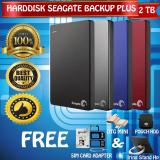 Toko Seagate Backup Plus Slim 2Tb Hdd Hd Hardisk External 2 5 Gratis Pouch Harddisk Otg Mini Reader Simcard Adapter 3In1 Iring Stand Hp Lengkap