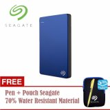 Model Seagate Backup Plus Slim Hdd Eksternal 2 5 1Tb Usb3 Biru Free Pouch Pen Terbaru