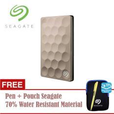 Harga Seagate Backup Plus Ultra Slim Hdd Eksternal 2 5 2Tb Usb3 Gold Free Pouch Pen Dki Jakarta