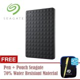 Seagate Expansion Harddisk Eksternal 1Tb 2 5Inch Usb3 Hitam Free Pouch Pen Seagate Diskon