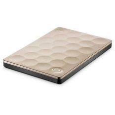 Spesifikasi Seagate Hardisk External 2Tb 2 5 Ultra Slim Gold Dan Harganya